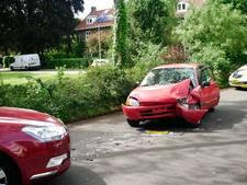 Gewonde bij botsing tussen twee auto's in Wageningen