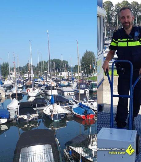 Inbreker nam 5,5 uur de tijd om havenkantoor in Culemborg te plunderen: 'Het lijkt wel een comedyshow'