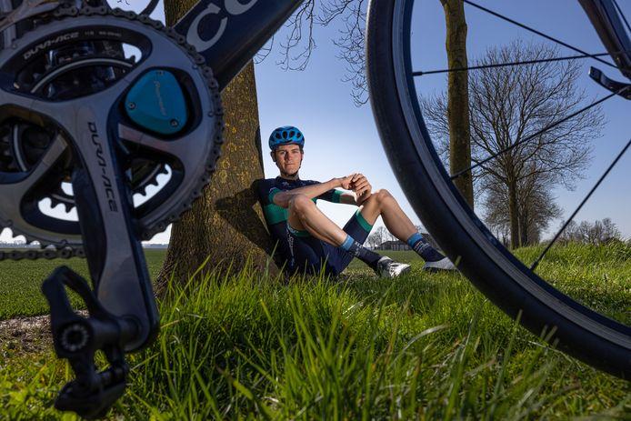 Jan Dunnewind hoopt dit jaar met Team Novo Nordisk meer in Europa te kunnen rijden.
