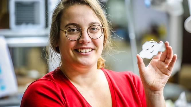 """Birgit maakt 1.000 glazen wolkjes voor Boven De Wolken: """"Bestellingen amper nog bij te houden"""""""