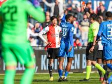 Feyenoord bijt zich stuk op Vitesse en verliest Berghuis met rood