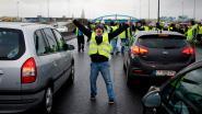 Blokkades in Luik en Henegouwen tijdens nachtelijke acties van gele hesjes in Wallonië