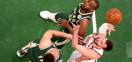 Spanning terug in NBA-finale na eerste zege voor Milwaukee Bucks