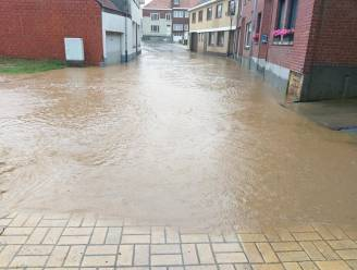 Ook Michelbeke, de thuishaven van premier De Croo, werd niet gespaard door het noodweer