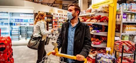 Mondkapje in supermarkt: negen op de tien Betuwenaren doen mee