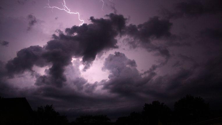 Archieffoto: onweer boven Nederland. Beeld anp