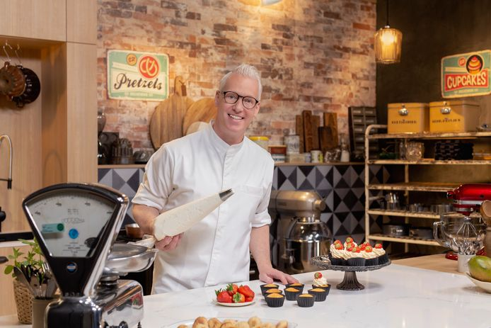 Tv-kok Rudolph van Veen in Rudolph's Bakery 2021