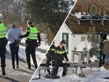 Veel politie op de been bij hotel in Blauwe Hand: man opgepakt
