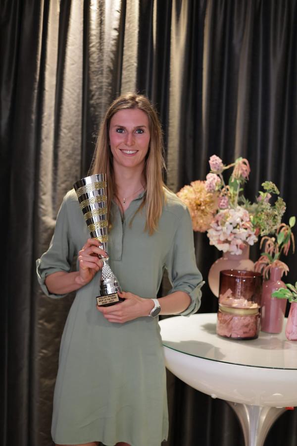 """MVP Belgian Womens Volley League: Sarah Cools: """"Deze titel is een beloning voor de hele club."""""""