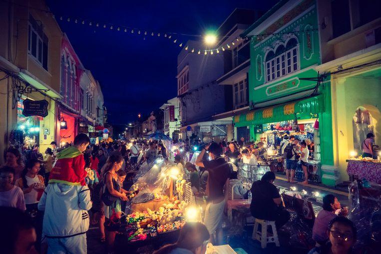 Phuket Old Town. Beeld Thibaut Renard
