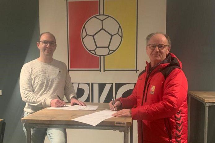 Henri van de Braak verlengt zijn contract bij DVG.