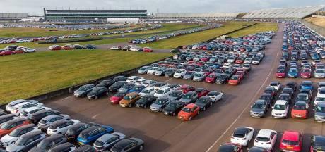 Dit circuit is nu één grote pandemie-parkeerplaats