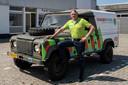 Veteraan Frank Hellendoorn is één van de drie parkrangers in Roosendaal.