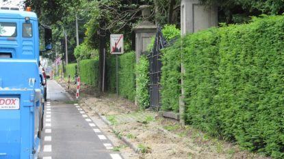 Gemeente laat voetpaden en parkeerstroken vernieuwen