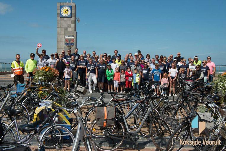 Vorig jaar waren er 120 fietsers.