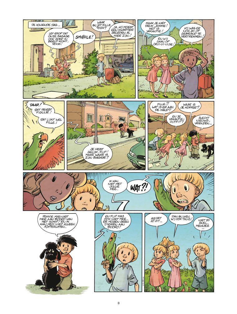 Een pagina uit Jomme. Beeld rv