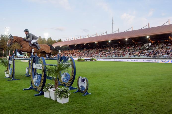 De Tops Arena in Valkenswaard toen er nog gras lag.