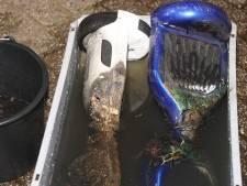 Hoverboards vliegen in brand tijdens opladen in Kaatsheuvel