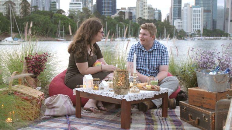 'Love on the Spectrum' Beeld Netflix
