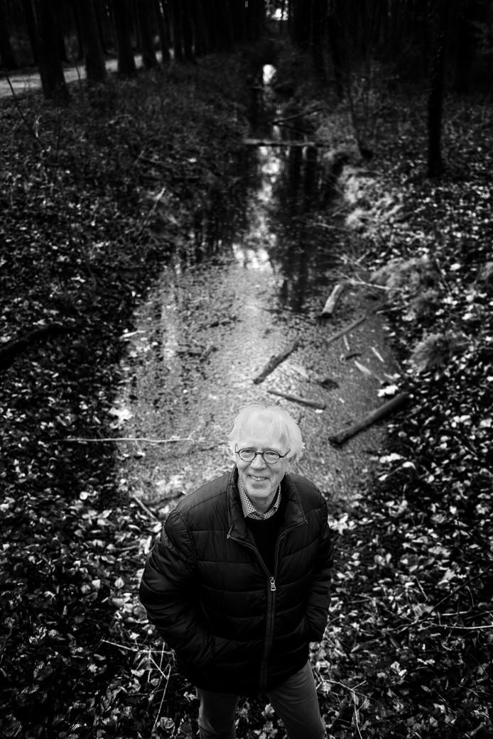 Anton van der Velde in het parkbos Neerijnen