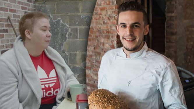 Bakker Kenneth schenkt mama Stefanie uit 'Zorgen voor Mama' een jaar lang gratis brood