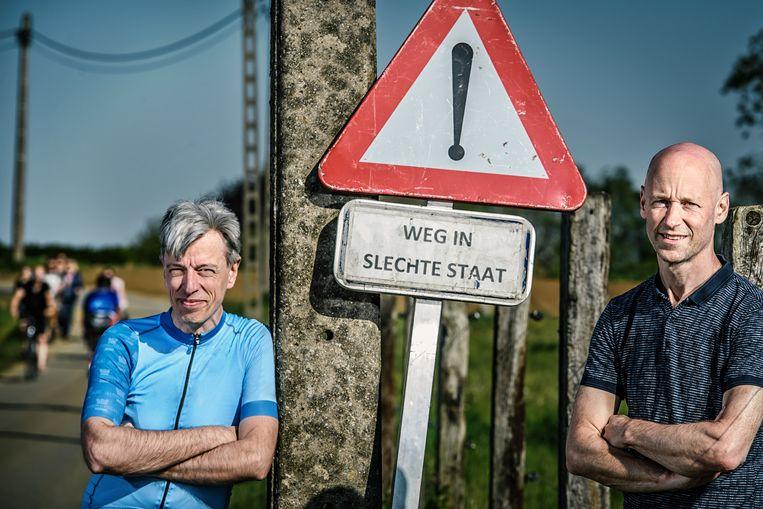 Geert Noels (links): 'AB InBev wordt een goede case. Gaat dat bedrijf kleiner moeten worden, waardoor we weer lokale brouwerijen krijgen? Of krijgt het goedkope leningen van de centrale banken om een gigant te blijven?' Beeld Geert Van de Velde