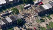 Explosie veegt verschillende huizen weg in Amerikaanse stad Baltimore
