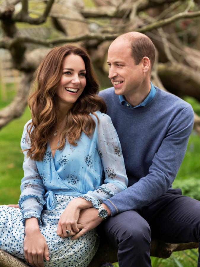 William en Kate vieren hun tienjarig huwelijksjubileum.