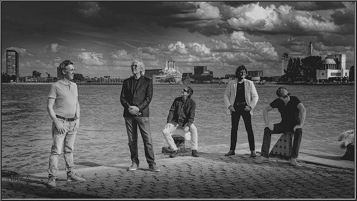 Loomis Gang, met Jaap Spigt tweede van links.
