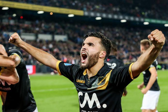 Mounir El Allouchi viert de 0-2