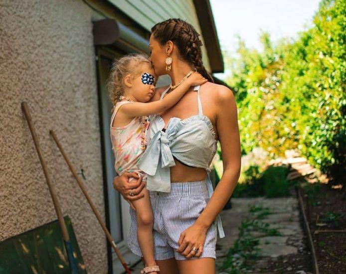 Alexandra et sa fille Lana