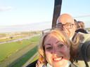 Fiona en Marco Jansen, op vakantie in eigen land.