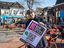 SOS Nunspeet helpt noodlijdende ondernemers 'die door een rietje moeten zuigen om overeind te blijven'