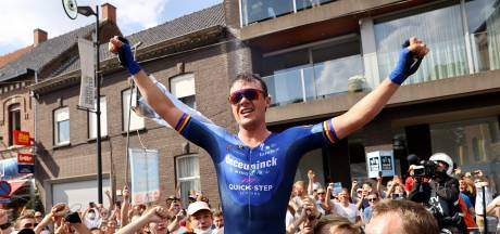 Yves Lampaert champion de Belgique du contre-la-montre devant Remco Evenepoel