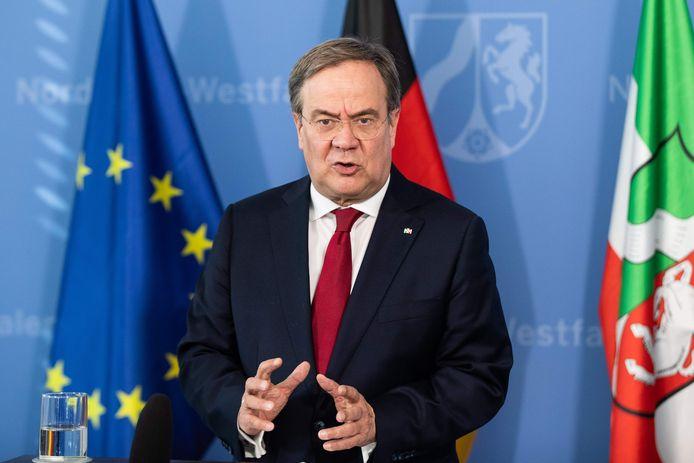 Armin Laschet, dirigeant de la région, la Rhénanie du Nord-Westphalie
