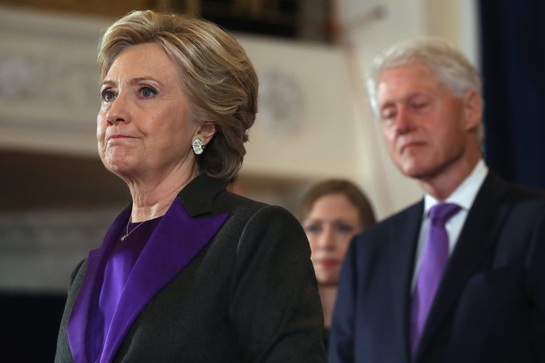 Hillary Clinton. Beeld