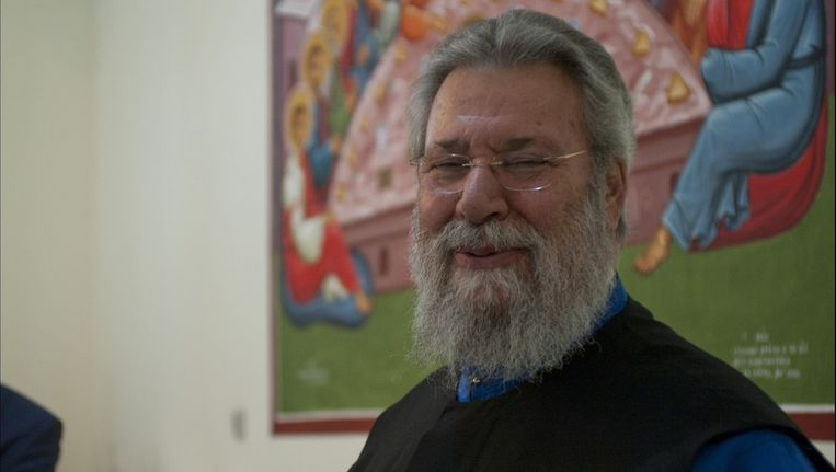 Chrysostomos II. Beeld PHOTO_NEWS