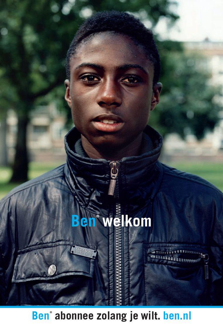 Reclamecampagne voor mobiele-telefoniebedrijf Ben, 2009. Beeld Kesselskramer