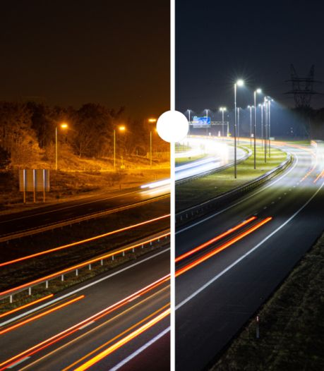 Nieuw licht op onze snelwegen: fotograaf uit Wezep legt verbluffende verschillen vast op A28 en A50