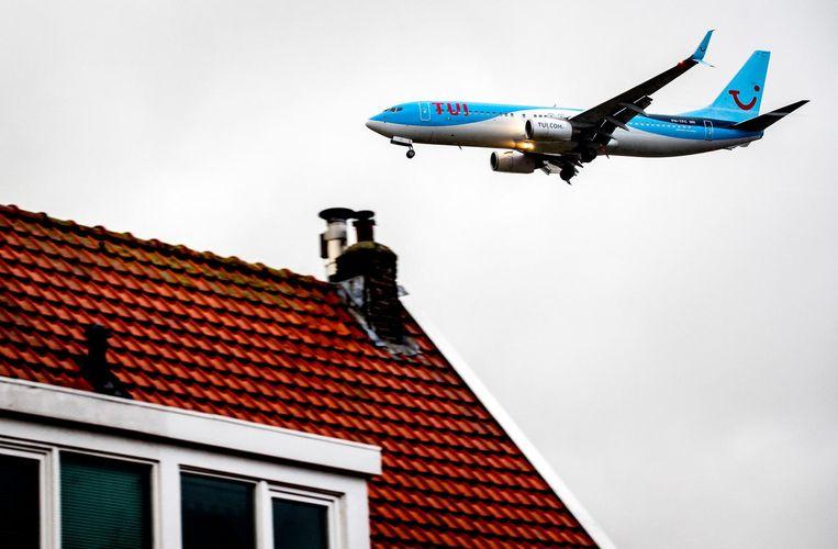 In Zwanenburg heeft volgens de GGD 31 procent van de bewoners ernstige overlast van vlieglawaai Beeld anp