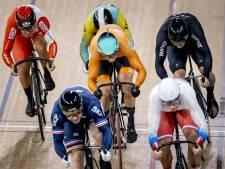 Alleen Bos niet naar kwartfinales op keirin bij WK baanwielrennen