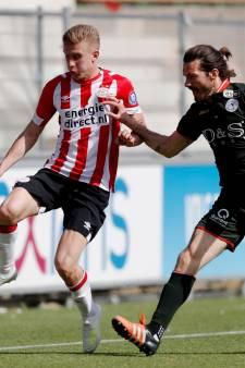 Sparta onderuit bij Jong PSV, titel naar FC Twente