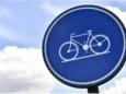 De fietsers kunnen nu al genieten van de nieuwe fietspaden.