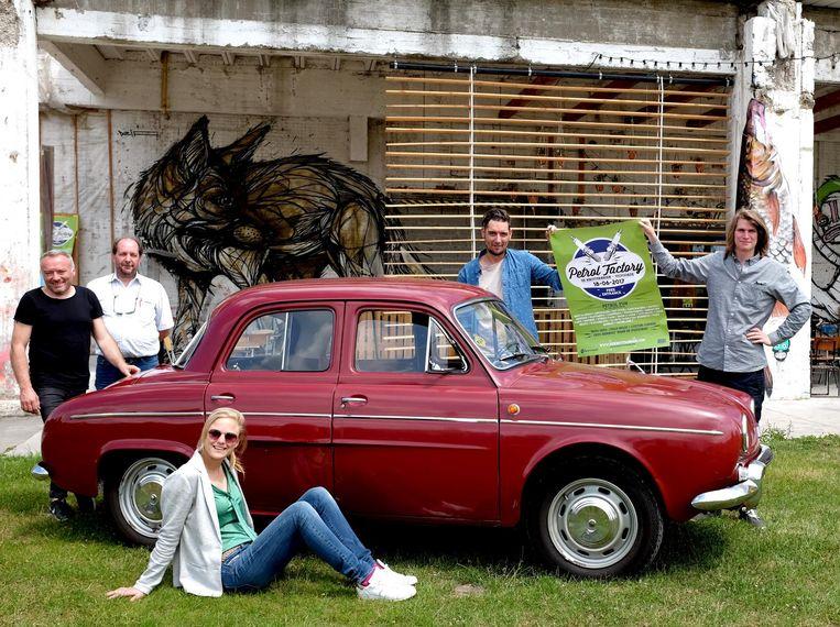 De Renault Dauphine uit 1967 is een van de hoogtepunten van de expo.