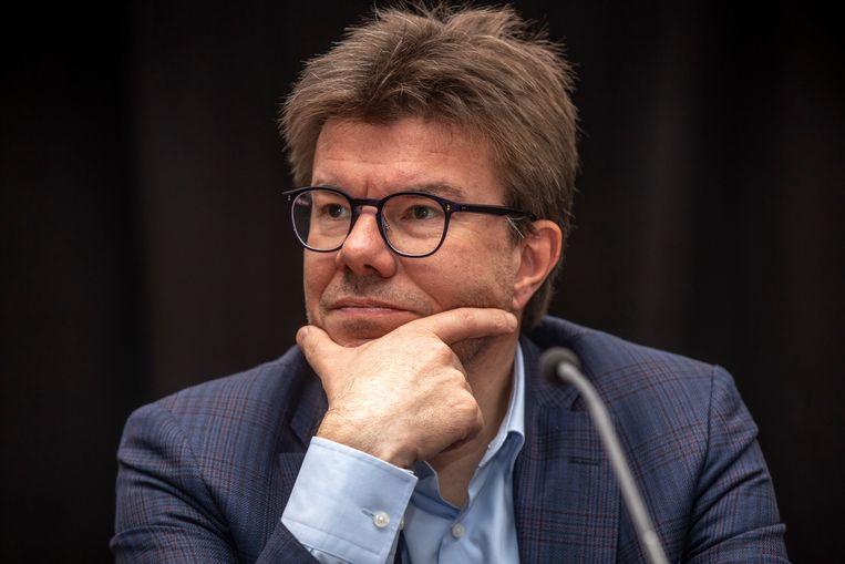 Brussels minister van Financiën Sven Gatz (Open Vld) vraagt een debat over de financiering van het Hoofdstedelijk Gewest. Beeld BELGA
