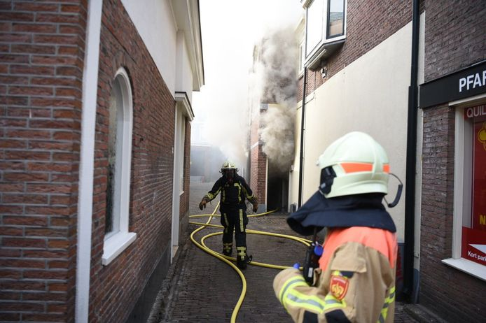 Woningbrand in Almelo