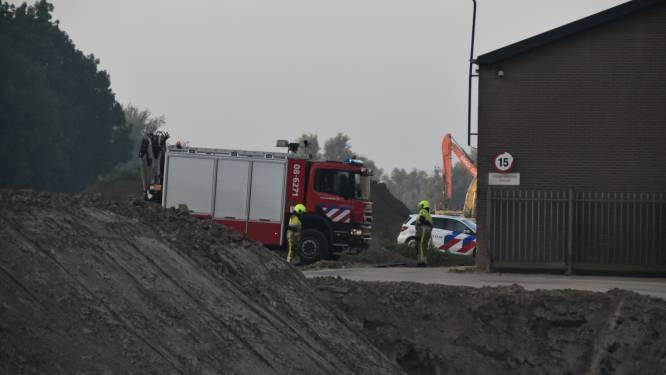 Traumahelikopter naar ongeluk in steenfabriek Aalst, slachtoffer zwaargewond