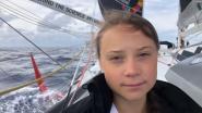 """Greta Thunberg (16) halfweg oversteek Atlantische Oceaan: """"Het is als kamperen op een achtbaan"""""""