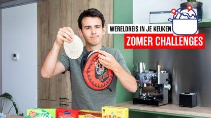 """Zalig, je proeft echt getoaste maïs en zout"": tv-kok Loïc keurt taco's uit de supermarkt"