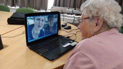 """Skype helpt isolement bij bewoners van wzc Riethove doorbreken: """"Het besef dat iemand digitaal aanwezig is, doet veel"""""""